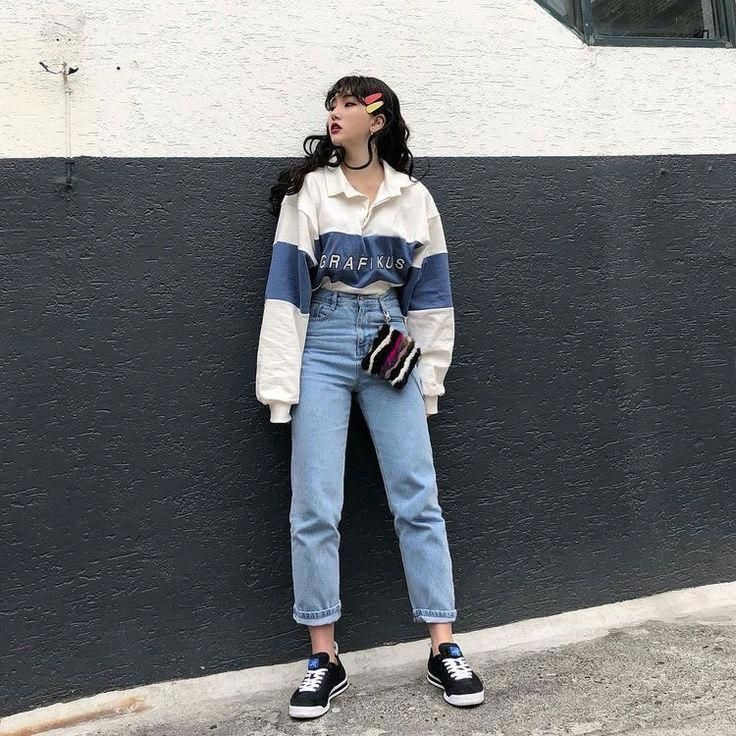 aesthetic Korean outfits